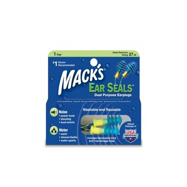 Ear_seals NRS 033732000116 Macks Ear Seals-Plugs Ørepropper Praktiske ørepropper!