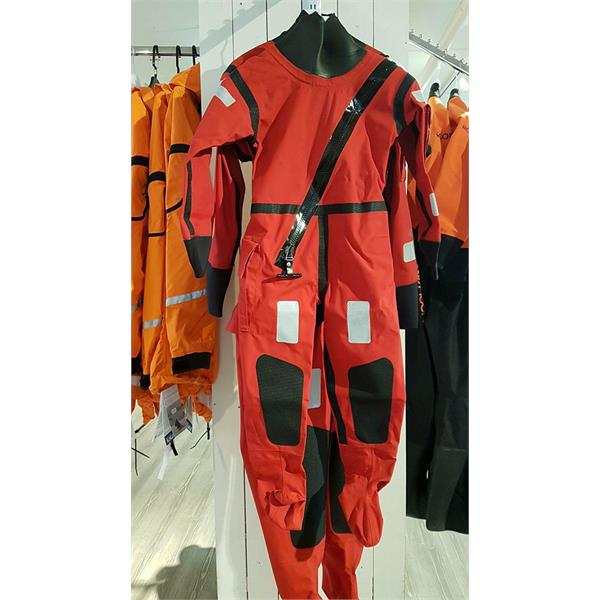 6970 AWS JNR RED M Ursuk  Ursuk AWS Junior Red Active M 120-140 Ursuit Tørrdrakt Inkl Bag, hansker, hood