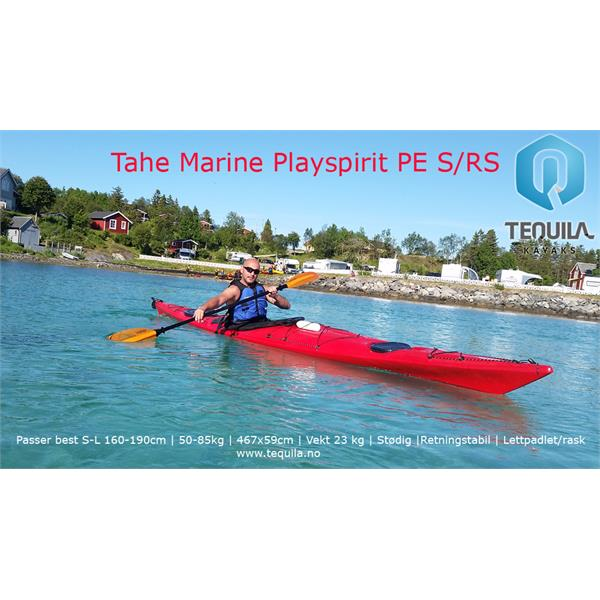PS-PE-RS-RED Tahe Marine  Tahe Marine PLAYSPIRIT PE RS Rød Multifunksjonell kajakk