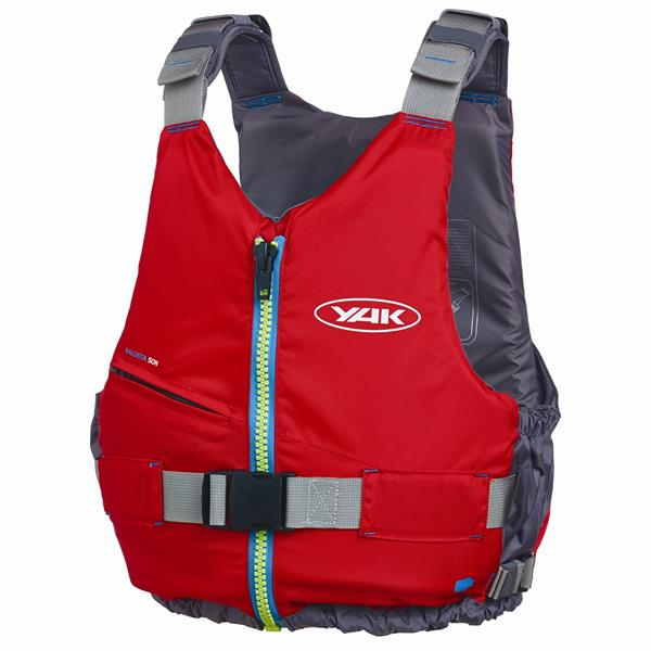 YAK-KAL-RED-JUN YAK  Yak kallista Padlevest Red JUNIOR Ny softere modell 50N