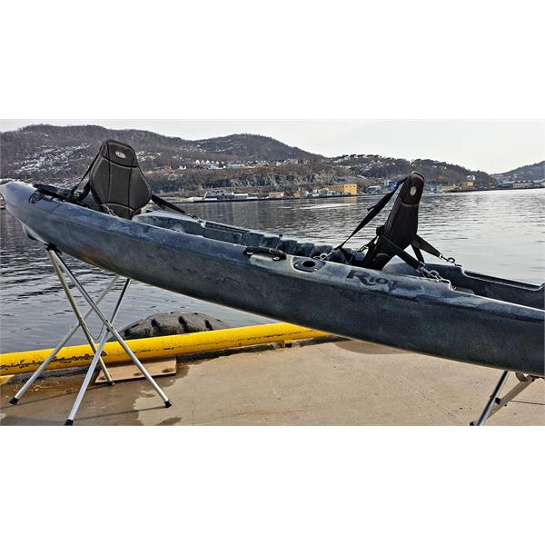 escapeduo-C Riot Kayaks  Riot Escape Duo Tandem Camo Fiske-Rekerasjons kajakk for 2
