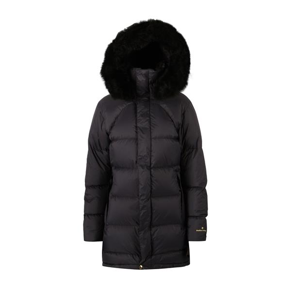 19210090204 Fleischer Couture  Polaris Down coat w/alpaca Deep Well 40 Like the night sky's most famous star