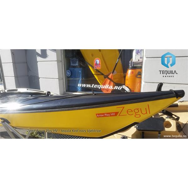 Z-PHV-AC-RS-W-B/BL Zegul  Zegul Arrow Play HV AC RS Hvit/Blå/Sort ACore (AC) Rudder/Skeg (RS) id 4249 -25%