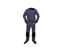 BE-DS-AIR-L-GR Artistic  Artistic Air Drysuit Grey L Unisex lett tørrdrakt med Zip under